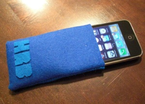 felt case for iPhone